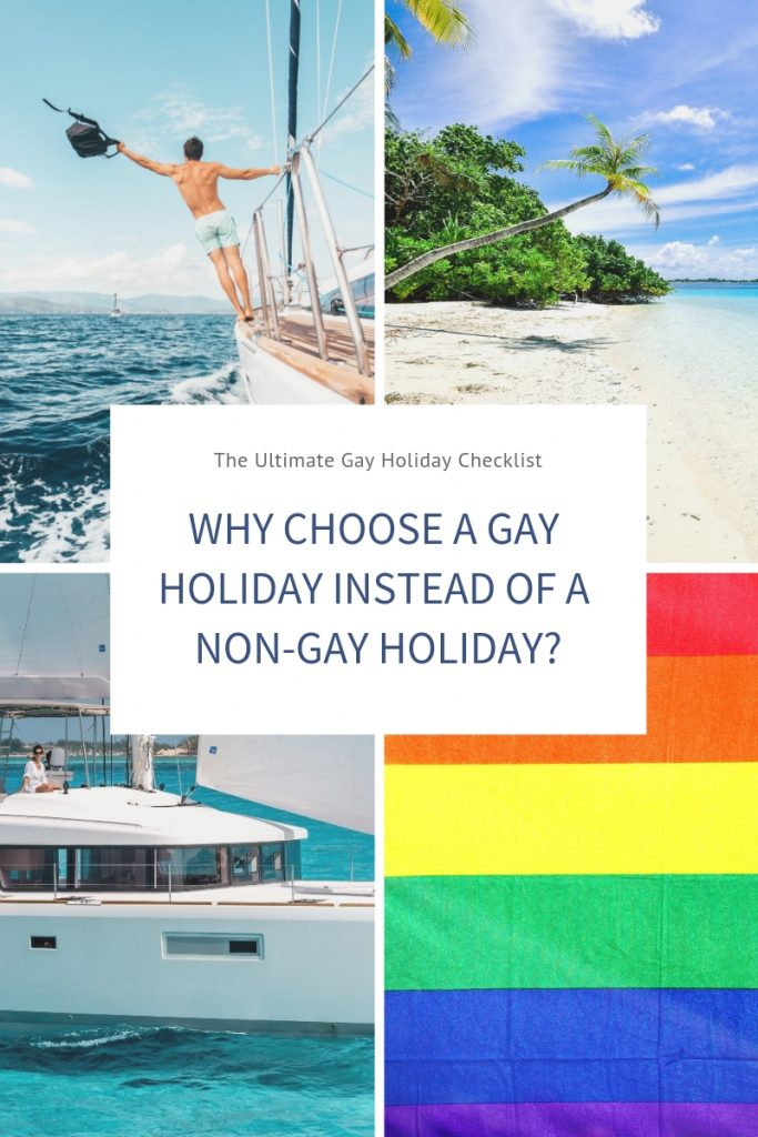 Gay holiday with pride diversity and sexuality